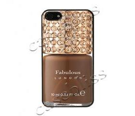 Fabulous London iPhone 4/4s Case - Black Plastic
